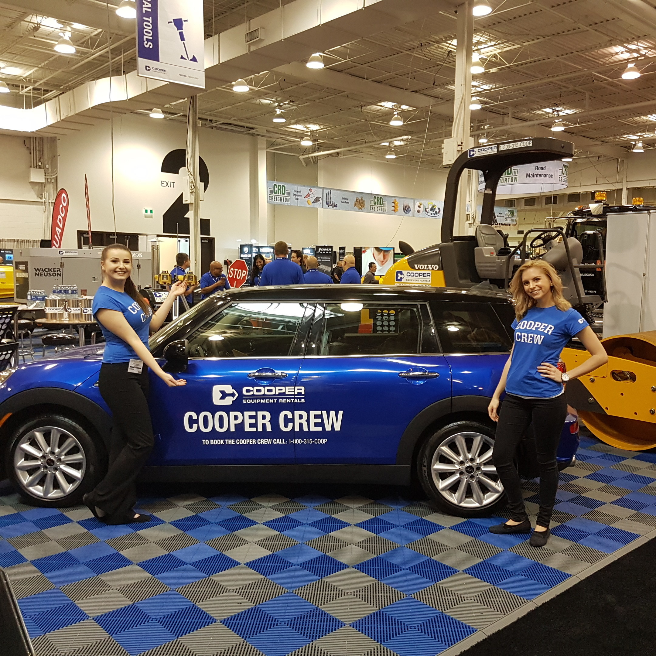 The cooper crew for Cooper rentals