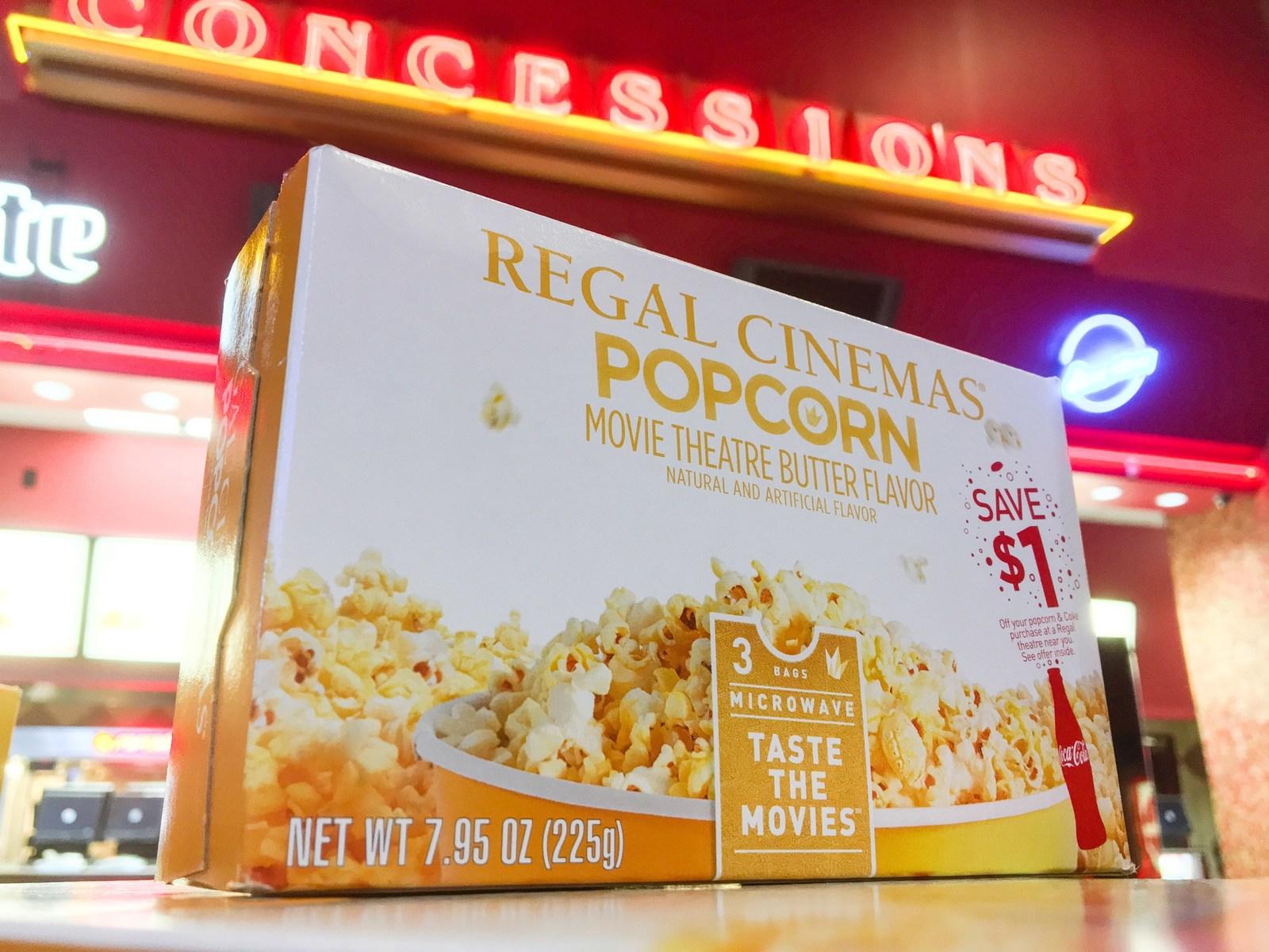 Regal popcorn coupon
