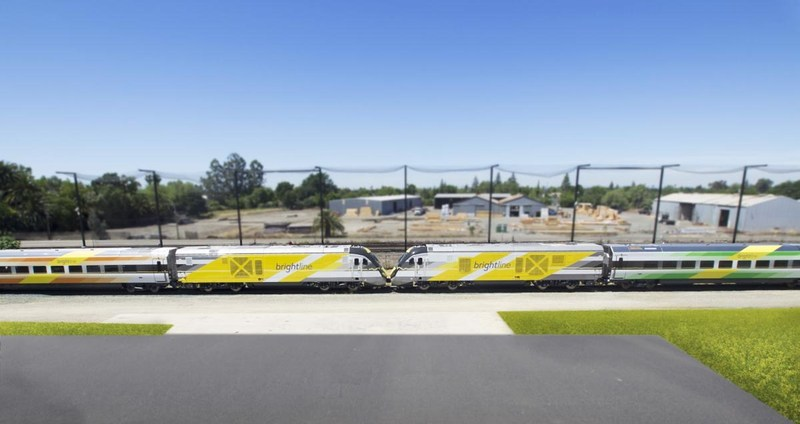 For the first time, two Brightline trains are shipped at once