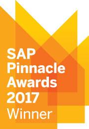 2017 SAP Pinnacle Award Logo