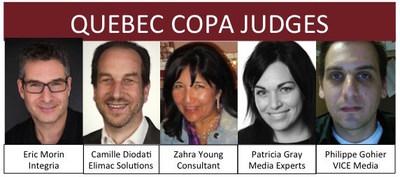 Appel de candidatures pour les Canadian Online Publishing Awards (COPA) 2017 (Groupe CNW/Canadian Online Publishing Awards (COPA))