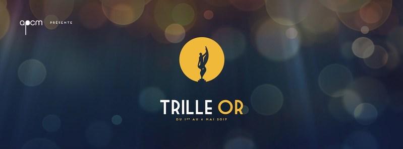 Les lauréats du Gala des prix Trille Or 2017! (Groupe CNW/APCM)
