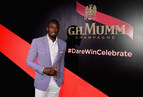 As Maison Mumm's CEO, Usain Bolt reinvents victory celebrations for the Kentucky Derby