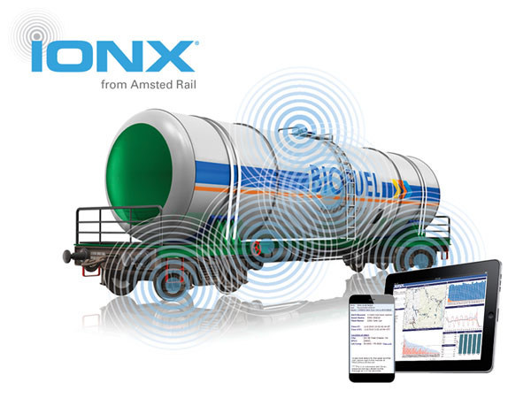 IONX Smart Train™ technology combines high-performance onboard sensors with a wireless network and cloud computing to transform raw data into actionable intelligence. Maximizing operational efficiency. Improving processes. Extending connectivity and asset visibility to the edge of your operations