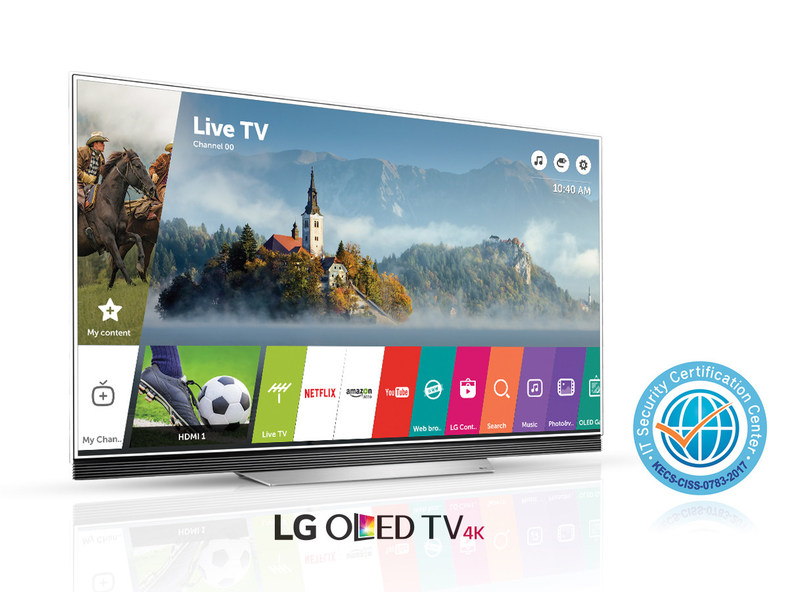LG's webOS 3.5 smart TV platform received a Common Criteria (CC) certification for its enhanced Application Security Solution Version 1.0 software. By earning another internationally-recognized security certification, LG continues to demonstrate that its smart TVs are among the strongest in smart TV security.