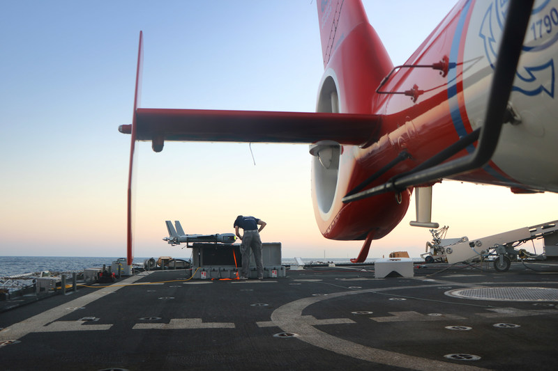 Insitu's ScanEagle unmanned air vehicle helped theUS Coast Guard intercept more than six tons of cocaine during a recent deployment aboard USCGC STRATTON. The event marked the first time a USCG cutter used a small UAS for an entire patrol.
