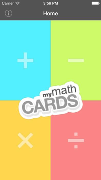 MyMathCards