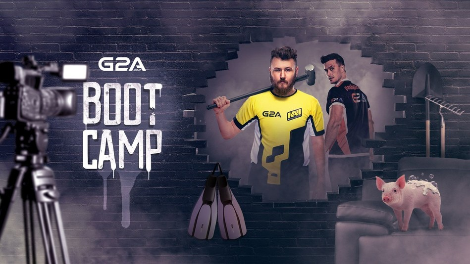 G2A.COM is hosting an esports bootcamp for Virtus.pro and Na'Vi in its research and development center in Rzeszów, Poland (PRNewsfoto/G2A.com)