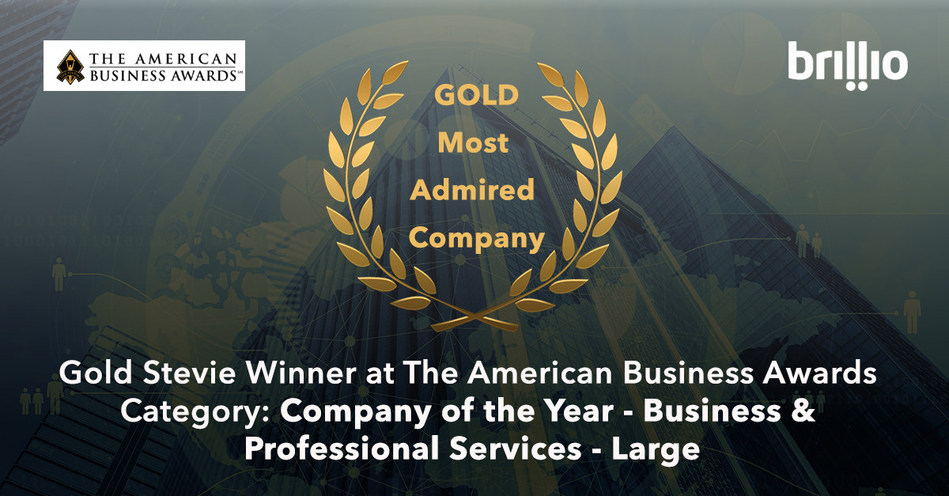 Brillio Wins Three Stevie® Awards From The 2017 American Business Awards