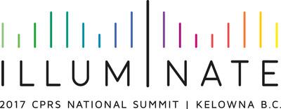 La Conférence nationale 2017 de la SCRP, Illuminate, aura lieu du 28 au 30 mai à Kelowna, en Colombie-Britannique. (Groupe CNW/Société canadienne des relations publiques)