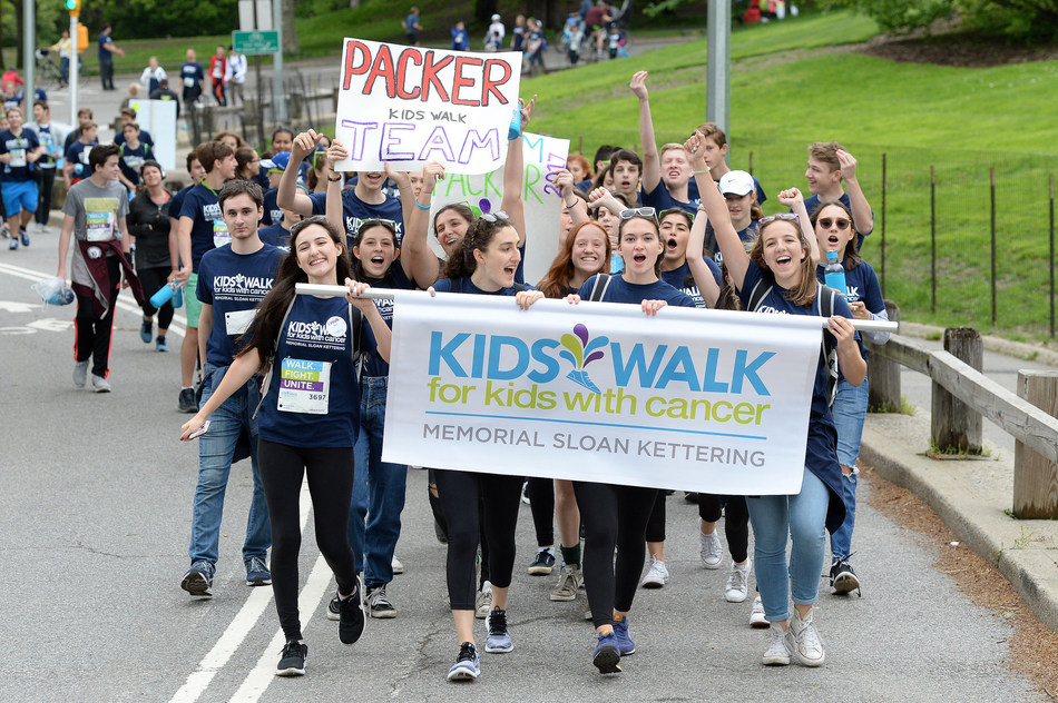 Kids Walk For Pediatric Cancer Research