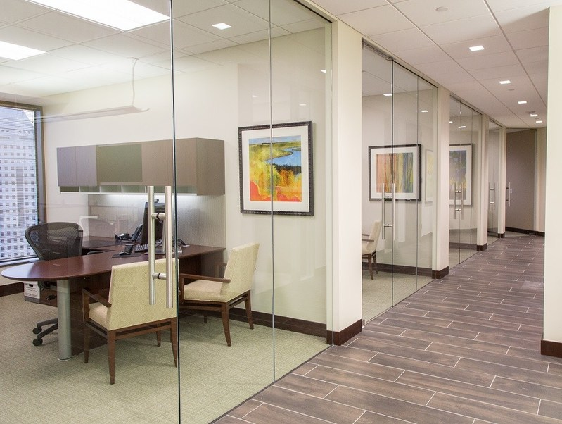Located at 333 Clay Street, Siegfried's Houston office is bright, modern, and equipped with the latest technology.