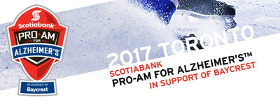 12th Annual Scotiabank Pro-Am for Alzheimer's™ in support of Baycrest (CNW Group/Scotiabank)