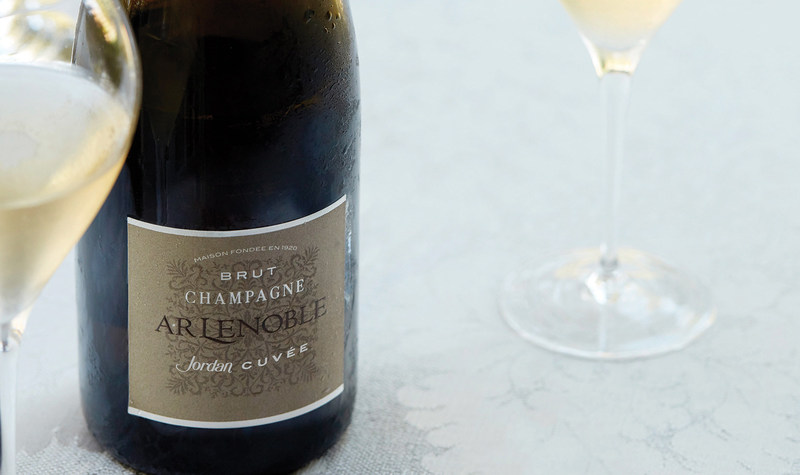 The Jordan Cuvée by Champagne AR Lenoble celebrates the shared values of Jordan in California and AR Lenoble in France, jointly committed to independent ownership, wines of balance and quality without compromise.