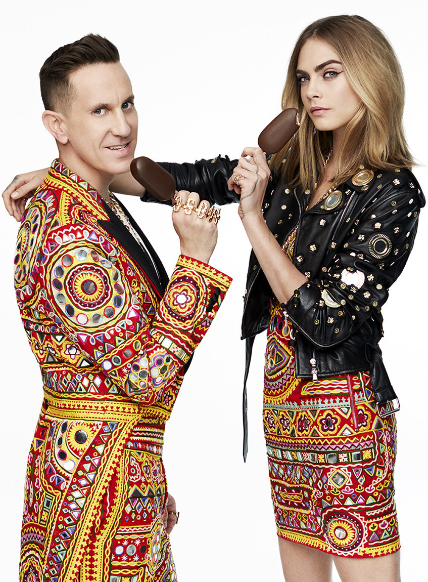 Unleash Your Wild Side: Cara Delevingne and Moschino's Jeremy Scott join forces with MAGNUM Ice Cream in fierce new campaign to celebrate MAGNUM Double