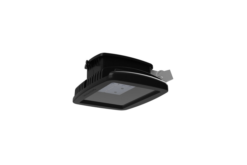 Shat-R-Shield, Inc. selected thermally conductive Makrolon® polycarbonate from Covestro LLC for use in the main luminaire housing of the Incoplas™ LED Hybrid. (Photo credit: Shat-R-Shield, Inc.)
