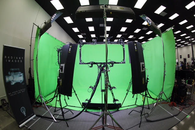 The Uncorporeal VR/AR 3D reality capture software in action at Radiant Images in Los Angeles.