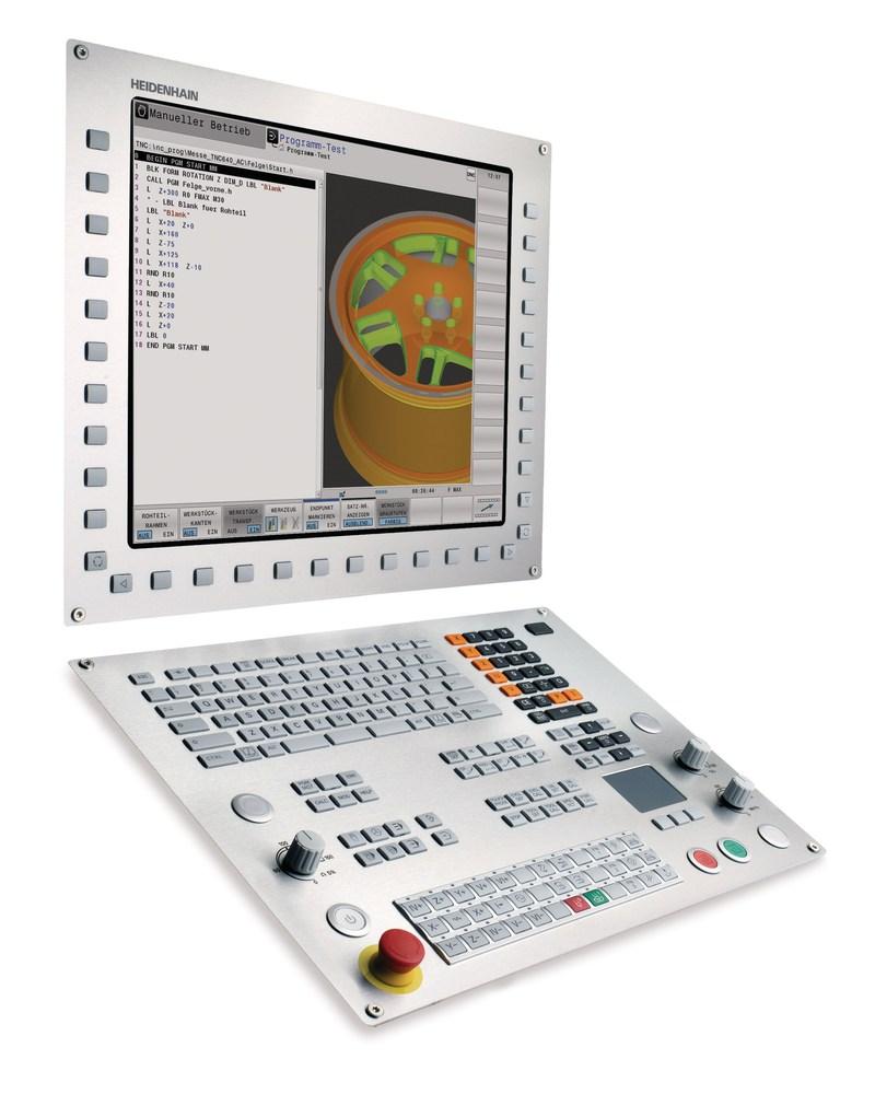 HEIDENHAIN's TNC 640 milling control with mill-turn capabilities