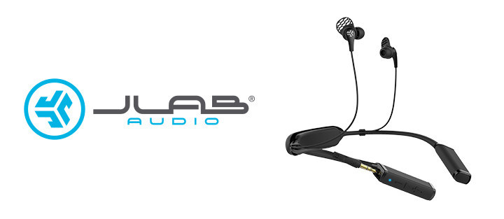 JLab Audio's Gravity Bluetooth Neckband Adaptor transforms wired earbuds to wireless. To keep you GOing through the day, the neckband provides 10 hours of Bluetooth playtime.