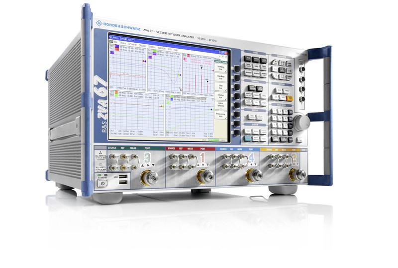 Rohde & Schwarz's R&S ZVA 67 GHz Vector Network Analyzer