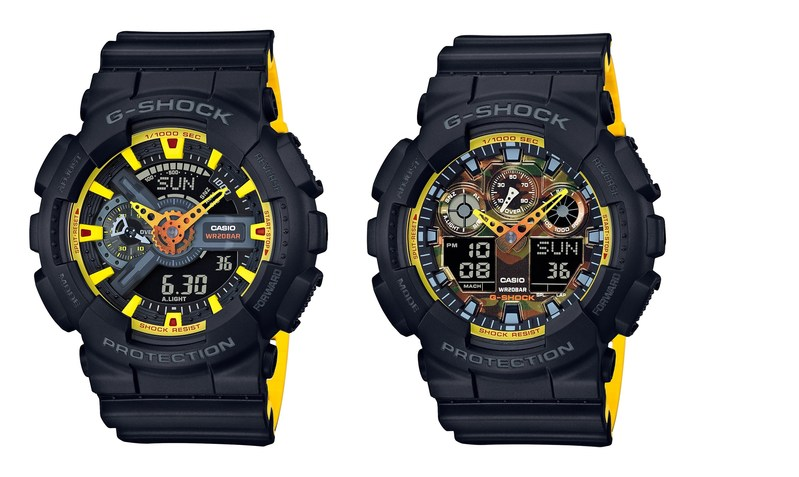 The New Yellow Color Accent Series (GA100BY-1A and GA110BY-1A)