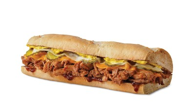 Quiznos' Southern Style BBQ Pulled Pork sandwich.