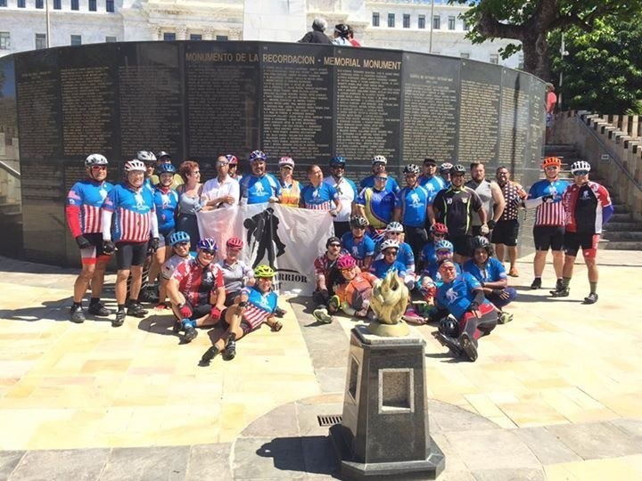 Warriors served by Wounded Warrior Project enjoyed a day of cycling in historic San Juan recently.
