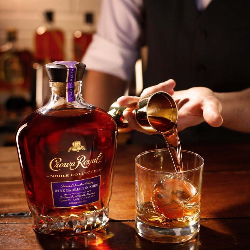 Crown Royal satisfies whisky and wine lovers with introduction of Wine Barrel Finished Whisky
