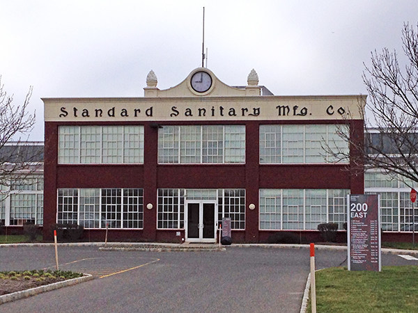 The American Metro Complex in the former American Standard Sanitary Manufacturing Company building.