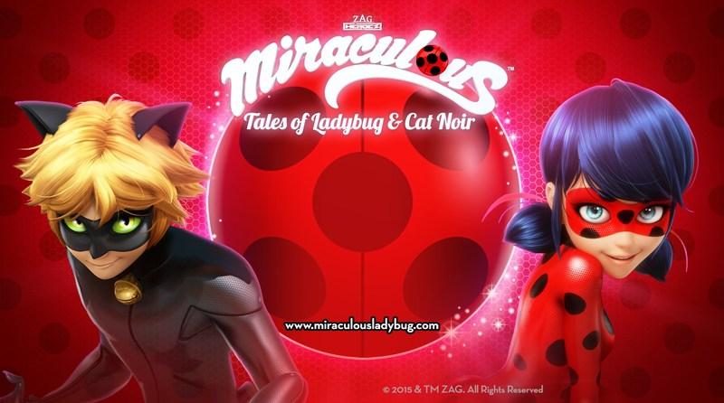 Miraculous™:Tales of Ladybug & Cat Noir (PRNewsfoto/ZAG)