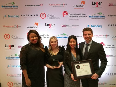 High Road recognized with three 2017 ACE Awards (CNW Group/High Road)