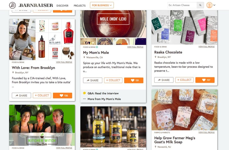Barnraiser Launches Discover Platform for Artisan Foods, Local Farmers & Tastemakers