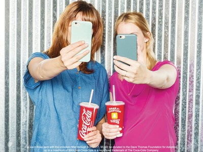 Wendy's® has partnered with Snapchat to create a special selfie filter that can be unlocked with a purchase of a drink cup. For each selfie shared with the filter, Wendy's will donated $5 toward finding a loving and caring family for every child in foster care.