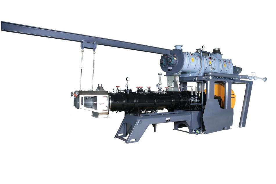 ContraTwin twin screw extruder by IDAH.
