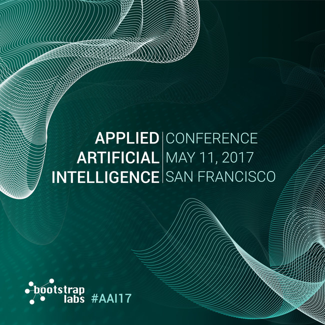 Applied Artificial Intelligence Conference 2017, new cover by BootstrapLabs