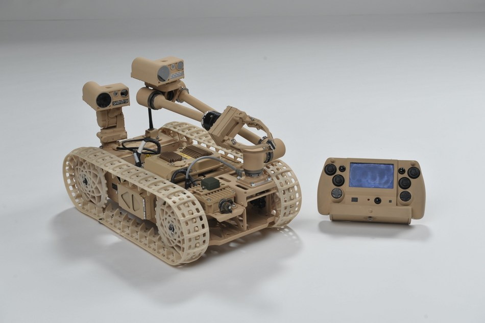 Advanced Explosive Ordnance Disposal Robotic System (AEODRS) with integrated Neya Systems' UxAB™ module