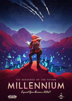 Empire: Millennium Wars - Teaser Poster (PRNewsfoto/Goodgame Studios)