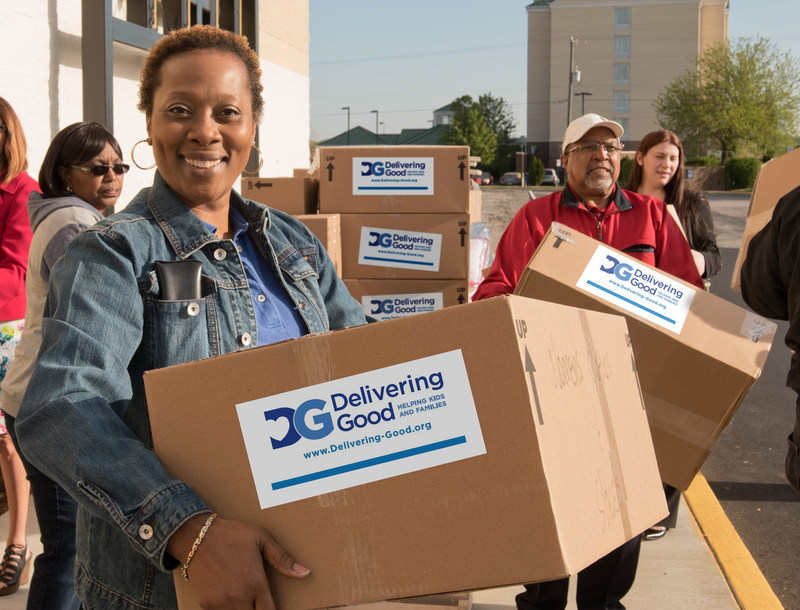 """Delivering Good Mission """"Helping Kids and Families"""" www.Delivering-Good.org"""