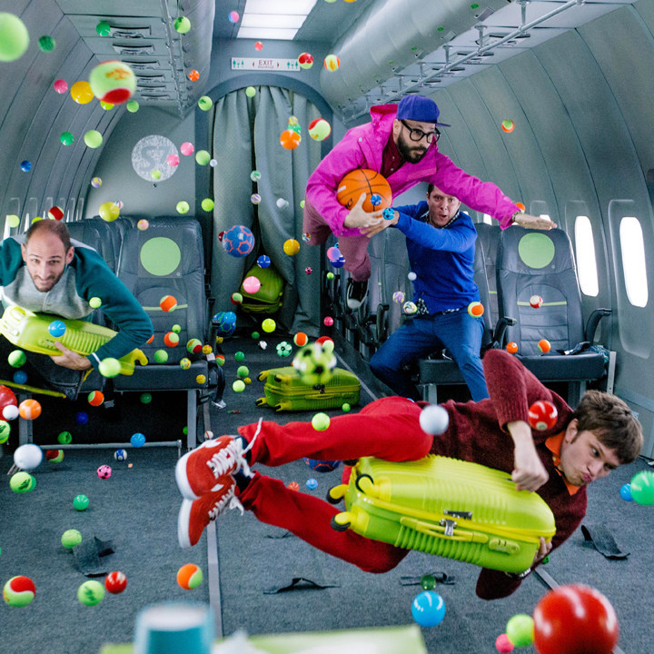 High-energy pop-rock pioneers OK GO (CNW Group/Arts Brookfield)