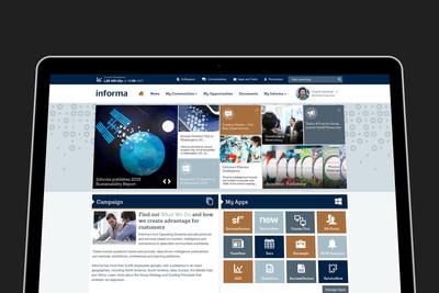 Informa Unily Digital Workplace (PRNewsfoto/BrightStarr)