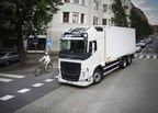 Vulnerable road-users are in focus in the 2017 Volvo Trucks Safety Report. (PRNewsfoto/Volvo Trucks)