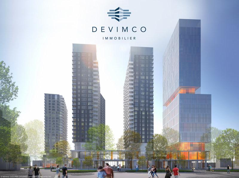 Devimco Immobilier dévoile le nom du nouveau projet phare sur le site de l'ancien Hôpital de Montréal pour enfants : Le Square Children's (Groupe CNW/Devimco Immobilier)