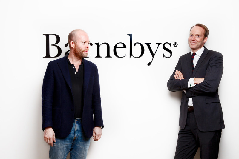 Barnebys.com co-founders, Christopher Barnekow and Pontus Silfverstolpe. The metasearch engine – the fastest growing art market platform in the world – is disrupting the 300-year-old auction industry and making unique art, antiques, collectibles and vintage items more accessible to all.
