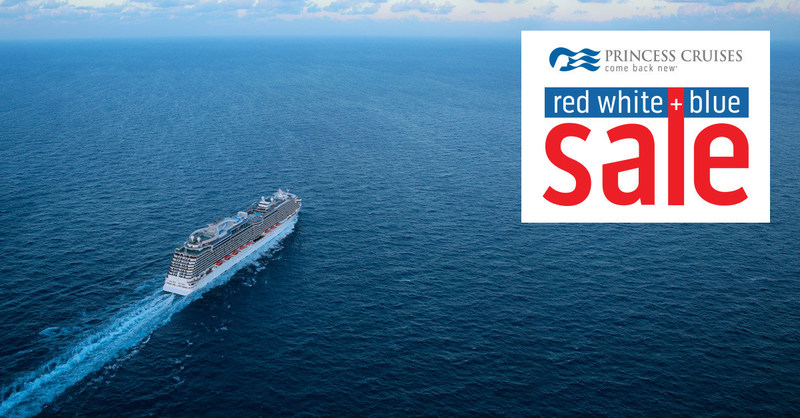 Princess Cruises Offers Cruise Fares from $749 During Red, White & Blue Sale