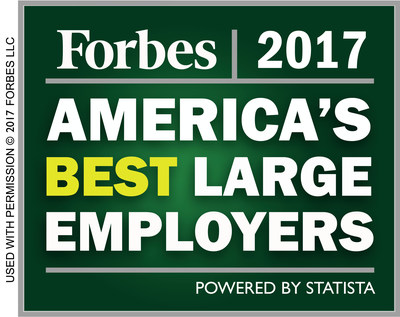"Mercy Medical Center Named to ""America's Best MidSize Employers"" List for 2017 by Forbes Magazine"