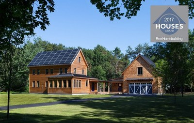 The 2017 Fine Homebuilding HOUSES Awards honored ZeroEnergy Design and Thoughtforms with the award: