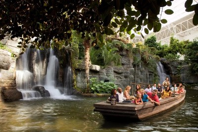 Explore Gaylord Opryland Resort's nine acres of indoor gardens on an indoor boat ride through the iconic Nashville hotel.