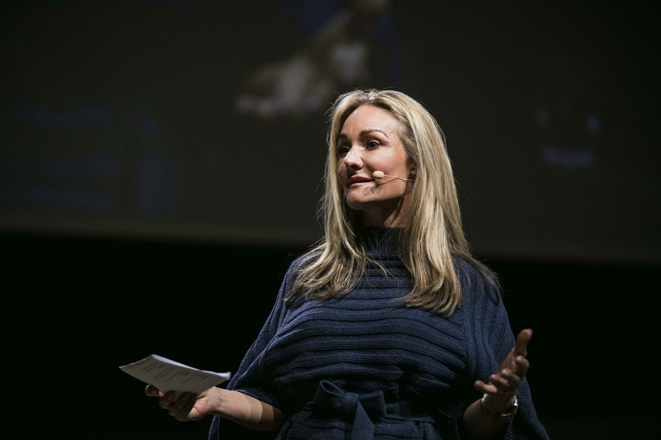 CEO Eva Kruse of Global Fashion Agenda at Copenhagen Fashion Summit 2016 (PRNewsfoto/Global Fashion Agenda)