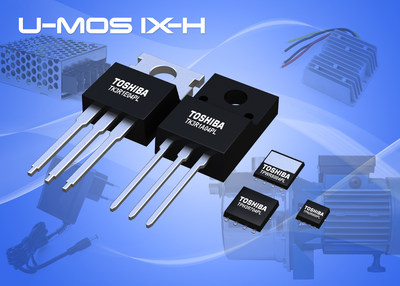 Toshiba's new 40V/45V N-Channel Power MOSFETs deliver high-speed performance and industry-leading low on-resistance.