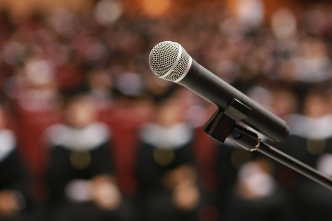 Toastmasters International Lists 6 Memorable Commencement Speeches